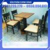 Bộ bàn ăn nhà hàng - DN12