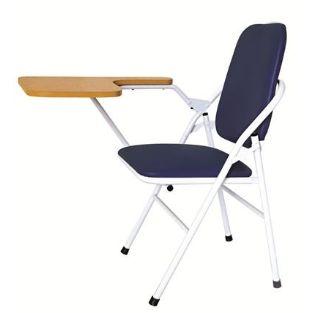 ghế gấp liền bàn chân sắt