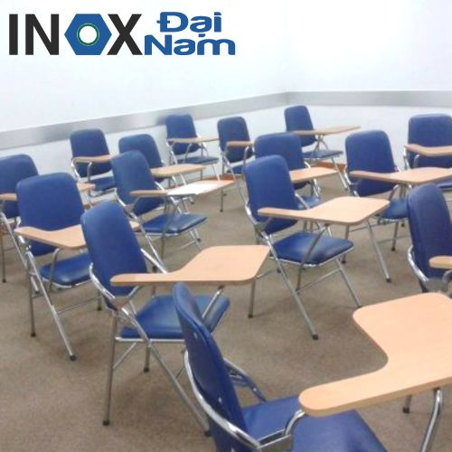 Ghế gấp liền bàn học sinh