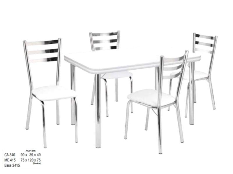 Bộ bàn ghế inox 304